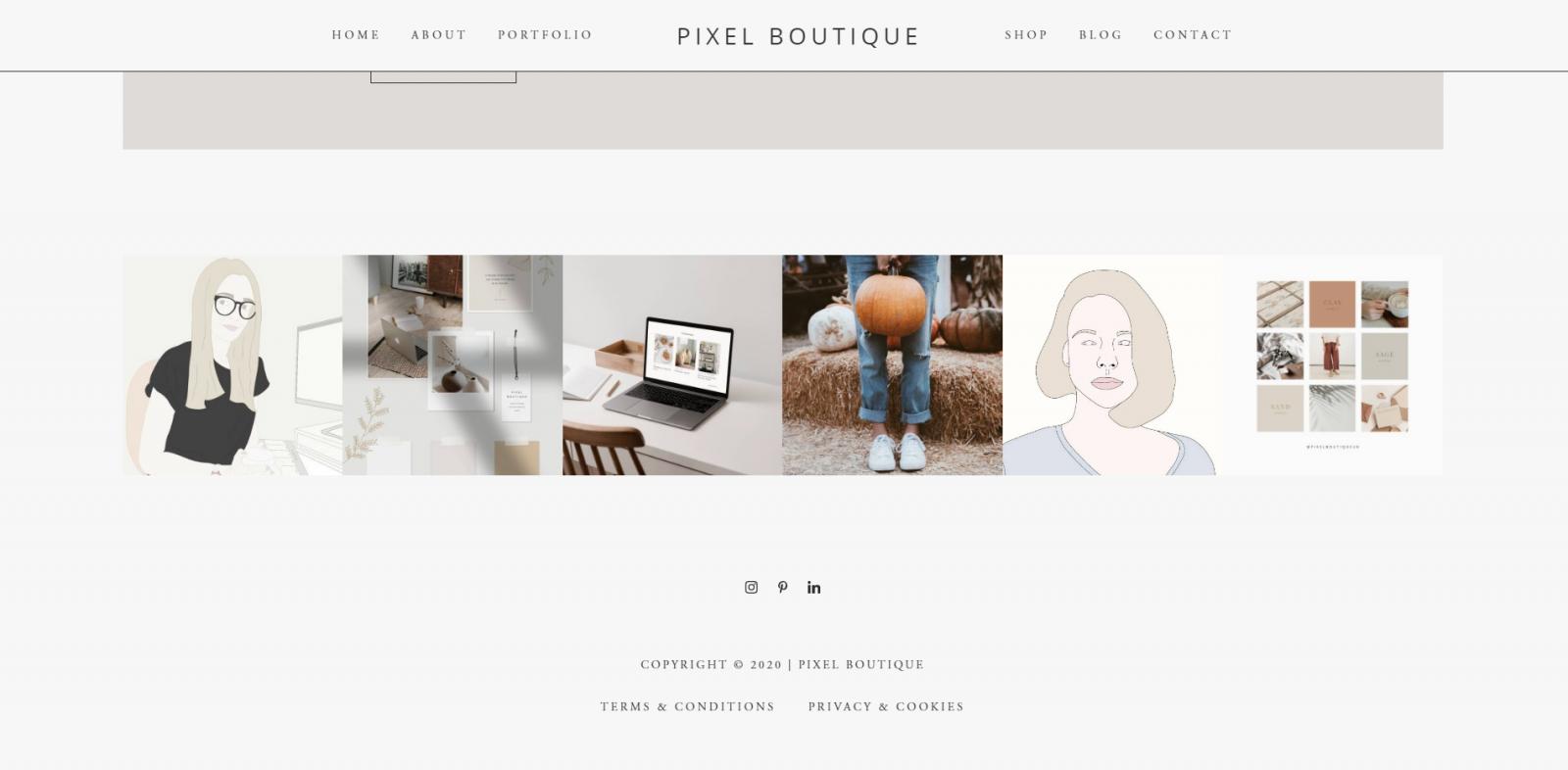 Pixel Boutique | WordPress Tutorials | Add Instagram Feed to Website