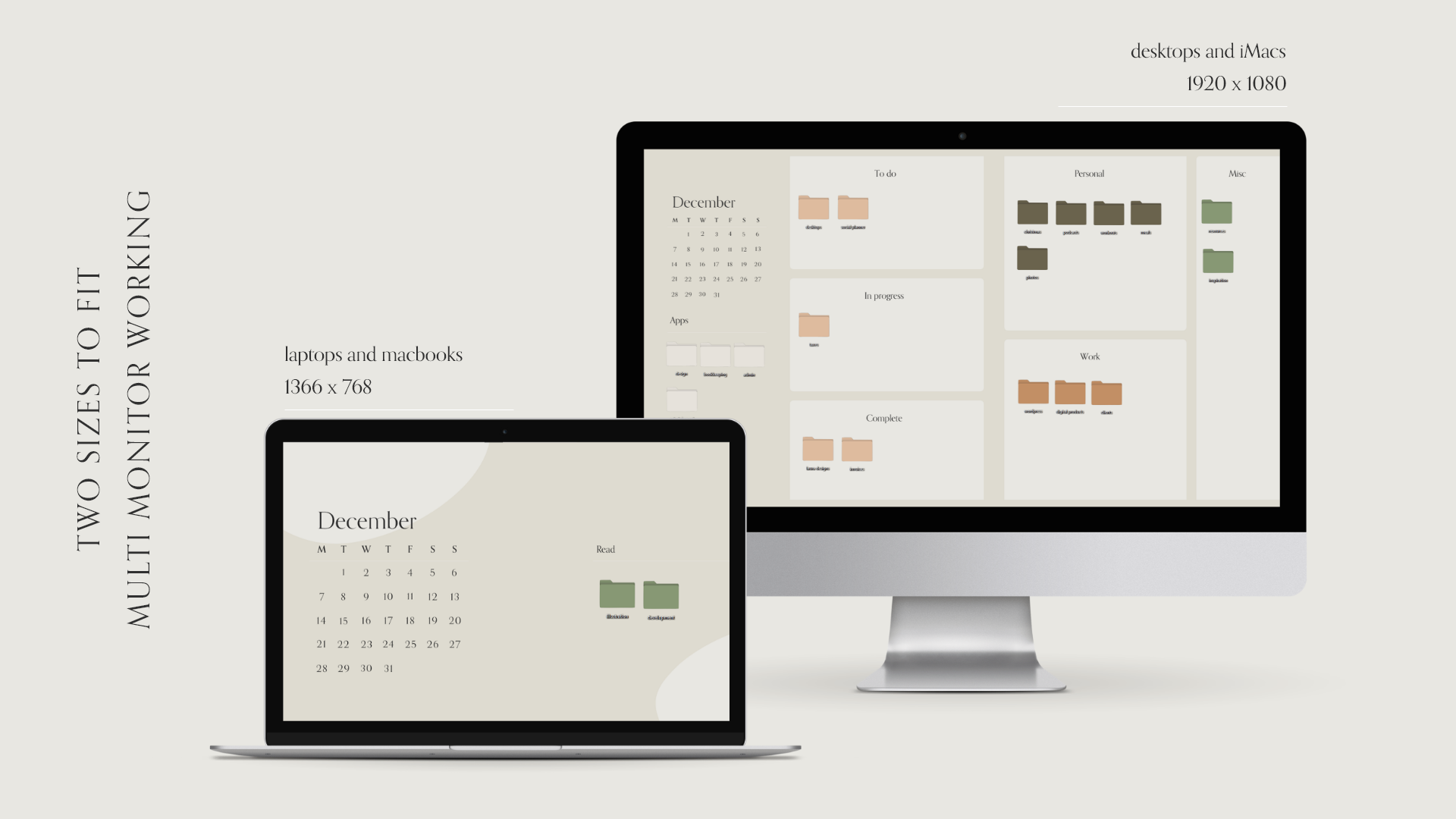 Desktop Wallpaper Organiser Calendar | FREE DOWNLOAD | Pixel Boutique