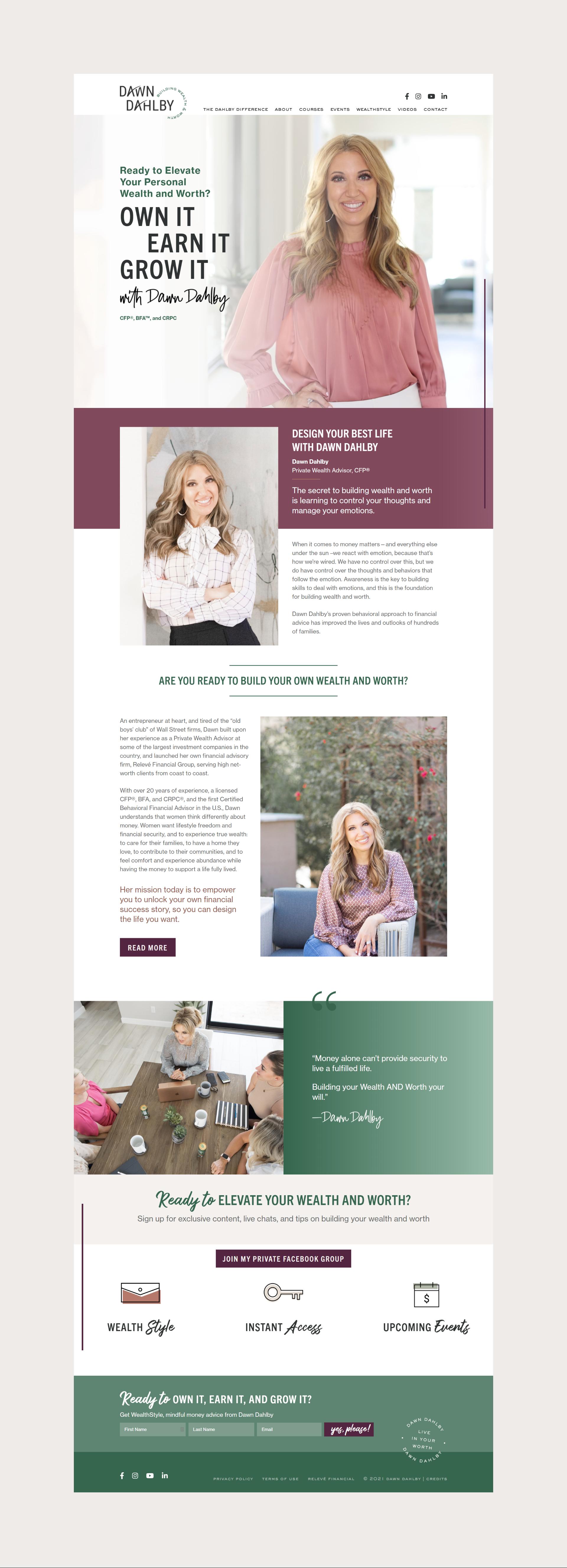 Dawn Dahlby   Pixel Boutique   WordPress Design and Development